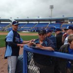 #Rays Balfour signing for #Rays fans in Dunedin today http://t.co/4cMeBlpmzH