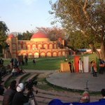 Saw a Bengali play at an amphitheater this afternoon.