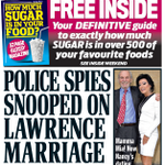 RT @SkyNews: MAIL FRONTPAGE: Police spies snooped on Lawrence marriage #SkyPapers http://t.co/hqKWhUS3zH