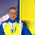 Only 1 Ukrainian athlete took part in #Paralympics opening ceremony & was met w/ HUGE ovation http://t.co/TqX2O09idr http://t.co/Osa9mb6H6s
