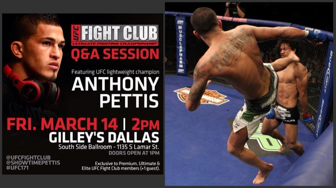 Ever wonder how @Showtimepettis felt landing the famous Showtime Kick? Here's your chance to ask @ our FC Q&A! http://t.co/9YR7Z8lugA