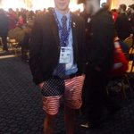 if you have to attend CPAC... may as well #TFTC RT @bennyjohnson Just found the biggest bro at CPAC. Hands down. http://t.co/OtA6KRnYWq