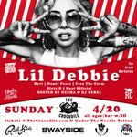 RT @BBOYWORTHING: Real talk tho: Sunday 4/20 with @L1LDebbie @thecrocodile #Seattle brought to you by @SoulGorilla @Mr10K & @ReignCity http://t.co/pEbFgvLDMx