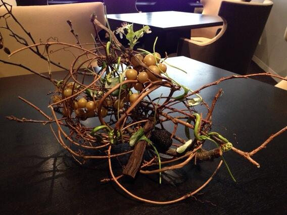 Can you see the 7 edible items? New course at Alinea tonight. http://t.co/6L8JrxfXTf