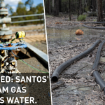 CONFIRMED: Evidence has emerged that Santos #CSG operations have contaminated ground water in north west NSW. http://t.co/chtbFzmg9k