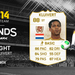 RT with #LegendsWeek for a chance to win an untradeable Kluivert! Xbox only. Closes at 12am UK TONIGHT. #FUT http://t.co/PW4d23BOCs