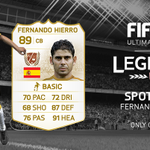1 more? Someone else can win an untradeable Hierro! RT w/ #LegendsWeek to win. Xbox only. Ends 12am UK TONIGHT. #FUT http://t.co/mDRIoEmA8C