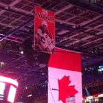What an amazing tribute to an amazing Flame #Nieuwendyk #ForeverAFlame http://t.co/wAGW8u9VHs