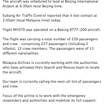 RT @businessinsider: BREAKING: Malaysia Airlines has provided an updated statement on its missing aircraft: http://t.co/qWVYDjQdQL http://t.co/SPvfvI8jAo