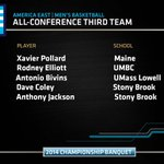 Now onto the All-Conference selections, first the Third Team! #AEHoops http://t.co/lPi4Go9BZ7