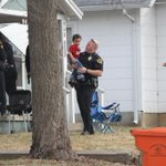 UPDATED: Photo from scene where subject of Amber Alert with police: http://t.co/MFqb1XjKLv http://t.co/x2iazlz6xJ