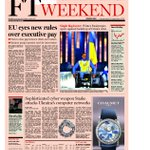 Front page of the Financial Times UK Saturday, March 8 http://t.co/z2NYri3vnm