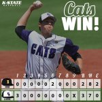 RT @kstatesports: CATS WIN! http://t.co/4sMLOI4Ncz