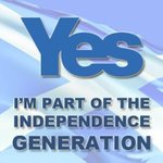 Im part of the Independence generation I hope you are too ! #Scotlands chance of a lifetime #VoteYes #indyref #YES http://t.co/sEp9vY1CqV