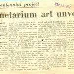 Precursor to @C_Calgary in the old Planetarium? Story on @CalgaryChambers 1967 plan to donate art to the facility. http://t.co/h6e5UOCz5V