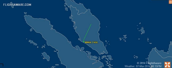 A flight carrying 239 people has vanished. Prayers for @MAS flight 370. Last known location over southern Asia: http://t.co/QWwLJCgeaV