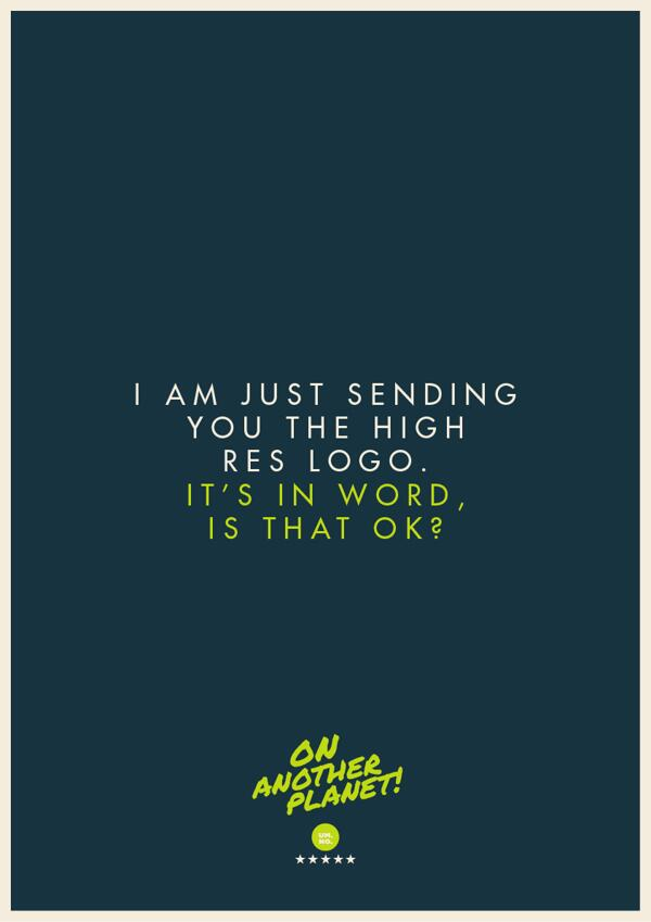 Client comments turned into #posters by Jonathan Quintin: http://t.co/514JgRsRGm http://t.co/J4xk6MuNDa