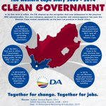 RT @DA_News: INFOGRAPHIC: Clean Government - The Western Cape Story 2009-2014. #WCapeStory http://t.co/d3uvajVAJA