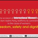 We need every Aam Aurat to join us in this fight against corruption. Happy Womens Day. http://t.co/kgMUNSOTm5