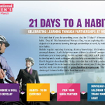 Choose a #skill that you want to develop. Study it, do it or follow it every day for #21days to make it a #habit.