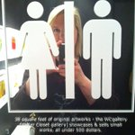 RT @dinnerwithjulie: Did you know theres a bathroom gallery in #yyc? @DaDeGallery #yycarts http://t.co/K4GMQnBzUp