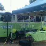 RT @bethanykeats: Getting ready to join the team from @947thepulse in the Green Bus at the Motor City Music Festival. #Geelong http://t.co/vng1T2Pe7Z