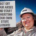 "RT @profsarahj: Lol ""@KieraGorden: A sincere and heartfelt message to all of you from Gina Rinehart. #AusPol via @AngelaLoRosso http://t.co/w2zl21CAzS"""