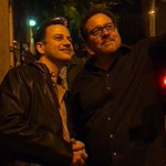 RT @ChefTheFilm: Comedian @jimmykimmel hanging with @jon_favreau earlier tonight. #Chef #SXSW