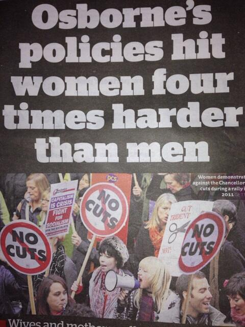Happy International Women's Day to everyone, except George Osborne! http://t.co/a3RK20bGr6