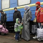 Ethnic cleansing begins... Crimean Tatars leave #Crimea for Western #Ukraine under threats https://t.co/M1e6Ceq7tH