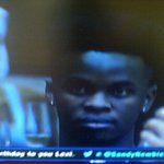 """@SkaMpotsaNyoso: Lol look how this nigga looking at Thembi!! :""""""D @BBMzansi #BBMzansi http://t.co/AMfxYZbuOv""hahahahaha dead*"