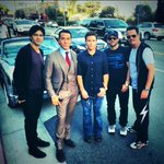 The boys are back #entouragemovie http://t.co/sM1VX4dpKw