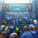 At the launch of the DAs #WCapeStory in Blue Downs this morning. The vibe is electric! @DA_News http://t.co/eNzNc7vaLA