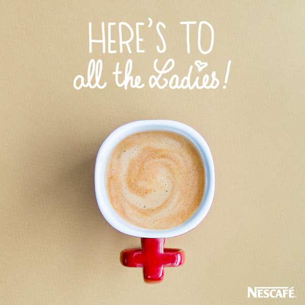 We love you girls! Happy #womensday http://t.co/vgWeEGWbRp