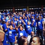 RT @DA_News: #WCapeStory Crowd dancing to One Love by Bob Marley. #Togetherforchange http://t.co/ER1gTSu8Lu