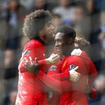 Danny Welbeck celebrates his goal against West Brom #MUFC http://t.co/rIUb7hZwpc