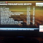 RT @adityaaima10: Passenger List details of #MH370 on @501Awani TV channel Astro 501 & LIVE STREAMING on http://t.co/jMS6eapGdx & app http://t.co/myervttiXA