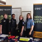 Here at Ottawa City Hall for Intl Womens day event. Great support from @OttawaPolice @ottawaparamedic @OttFire http://t.co/e8j75Gn4BX