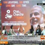 Shri @narendramodi has arrived. JOIN Live at http://t.co/kPEoSkhBoB #CPCreturns #WomenEmpowerment http://t.co/PGy9yII3YN