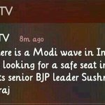 RT @sureshnakhua: Dear @ndtv @bdutt @sreenivasanjain @vikramchandra ,can u pls give link to tweet by @SushmaSwarajbjp mentioned in link http://t.co/g8GPd4it2A
