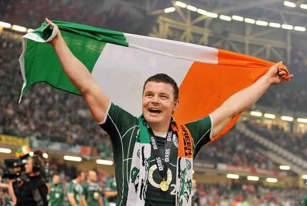 Best of luck to Ireland in the game today and congratulations to @BrianODriscoll on his 140th cap! #IRLvITA http://t.co/jccYRLdyrV