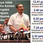 """@haryanimsl: Dont speculate -ds @HishammuddinH2O #Pray4MH370 http://t.co/O7siomuXLi"""