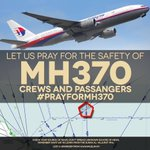 RT @imuslimmy: #prayformh370 Let us pray for the safety of MH370 crews and passangers. Dont speculate hoax and untruth news. http://t.co/FbJzMCzR26
