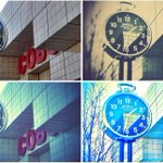 Did you see the new @Shinola clock in front of @cobocenter? How about the other 3 in #Detroit? http://t.co/dNuwOxETvY http://t.co/UDF3xIxpjN