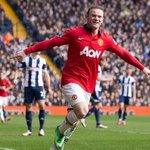 Wayne Rooney celebrates his goal against West Brom #MUFC http://t.co/EIAo4nUZCJ