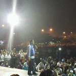 """@ngszehan: @anwaribrahim speaking to big crowd at Dataran Prima Saujana Kajang http://t.co/hyaHEZyhHI"""