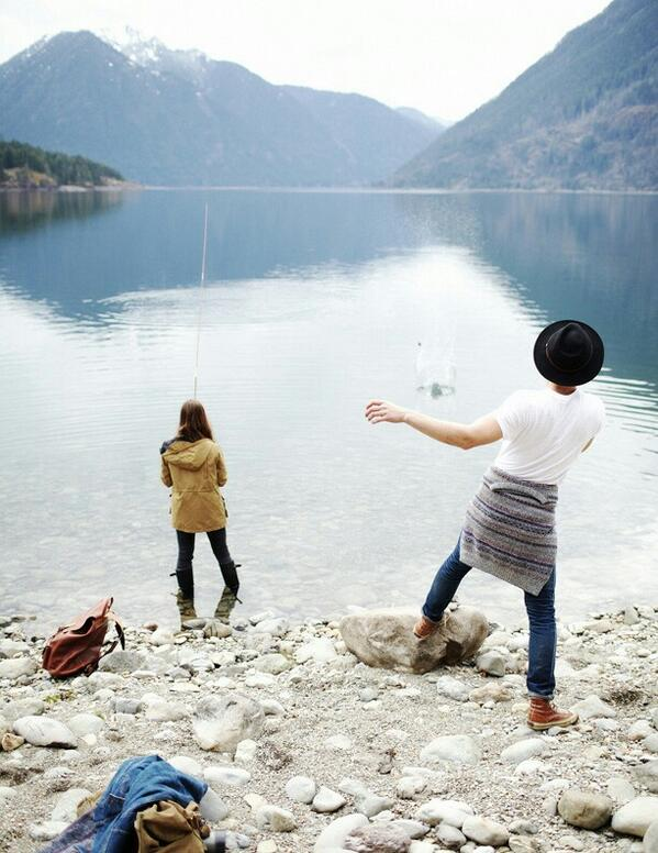 Show her what a catch she is and take her fishing 🎣 http://t.co/CLxue0QTAx