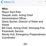 City holding rare Saturday presser with top officials to update media on frozen pipes this aft. http://t.co/wlXucXc4iP