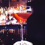 Pretty awesome Barrel Aged Manhattan at #TheRyeBar. A toast to Spring. @CapellaDC #DC #weekend http://t.co/3blejGiMPC