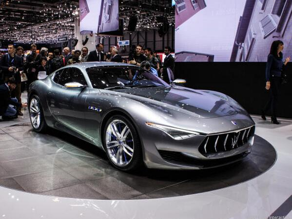 A Beauty! Maserati Alfieri concept unveiled at #GenevaMotorShow is one cool 100th bday present http://t.co/EGLq67FiaE http://t.co/PX8LxiGJR7